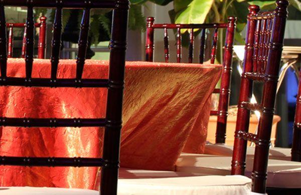 Mahogany Chiavari Chair for events rental