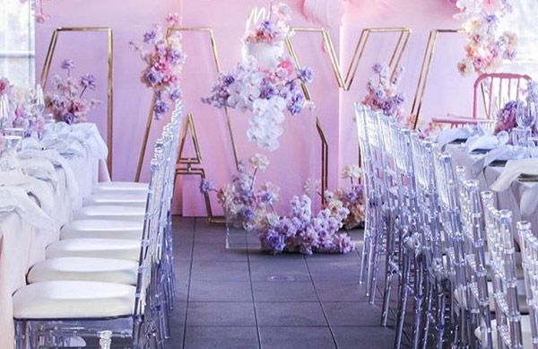 Resin Chiavari Chair for indoor events