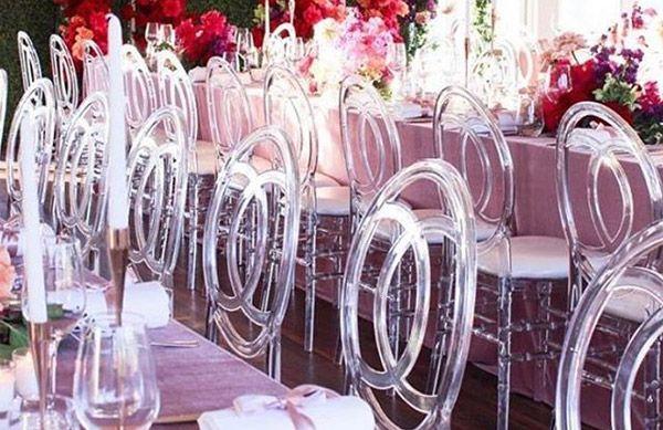 Resin Phoenix Chair for indoor weddings