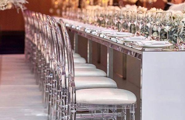 Resin Phoenix for indoor weddings