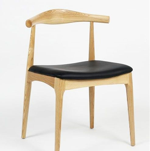 Wooden Cow Horn Chair