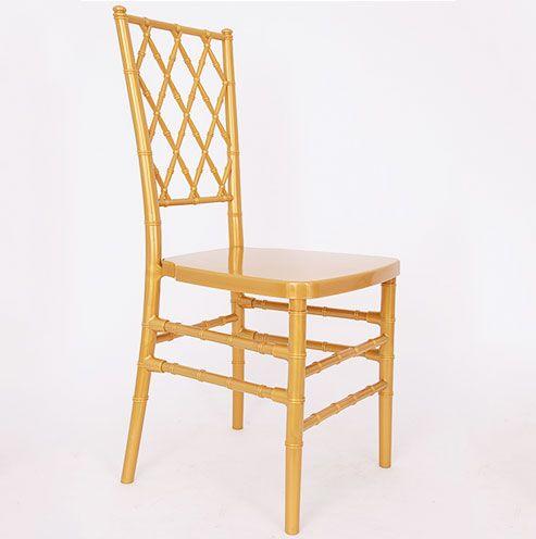 Resin Diamond Chiavari Chair