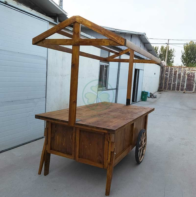 Food Truck with Storage Cabinet