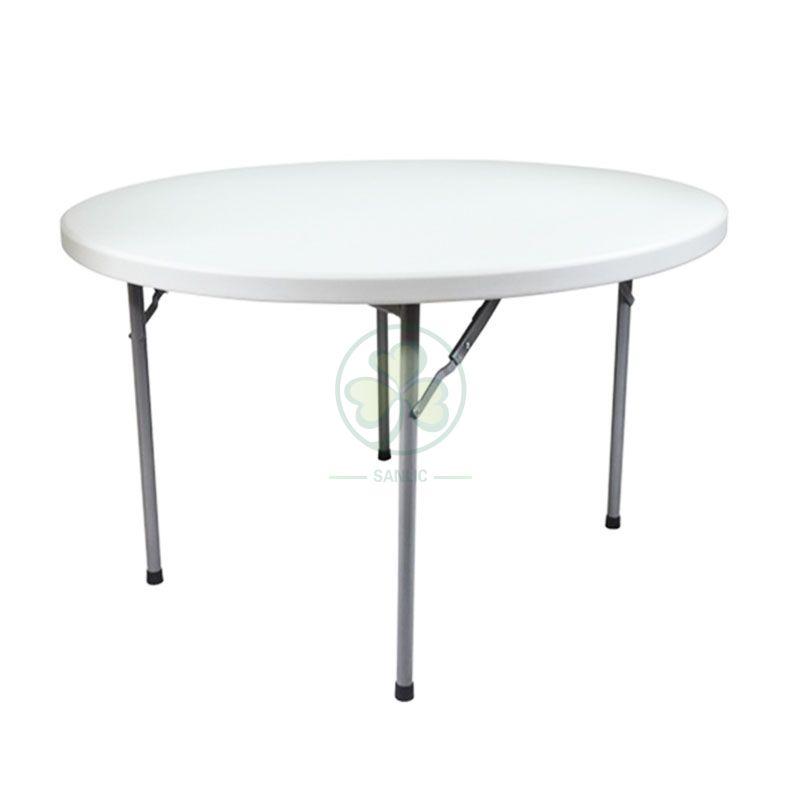 6FT Plastic Round Folding Table