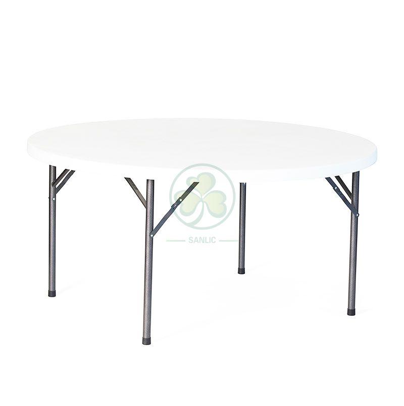 5FT Plastic Round Folding Table
