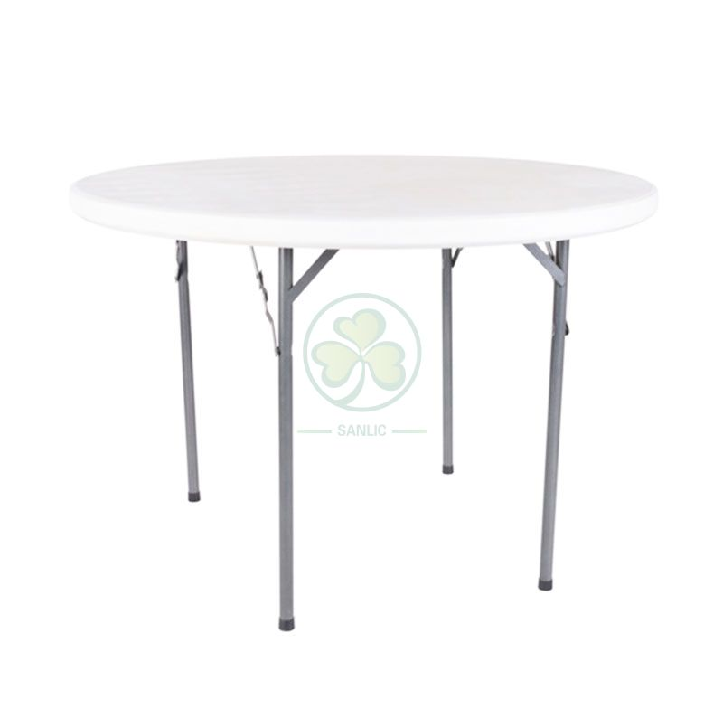 43inches Plastic Round Folding Table