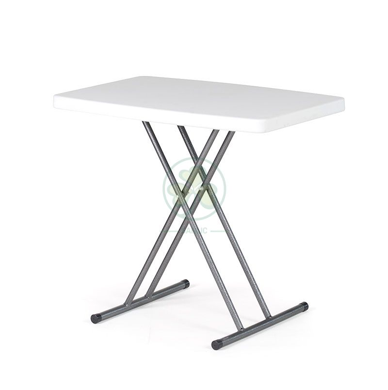 Plastic Adjustable Height Table