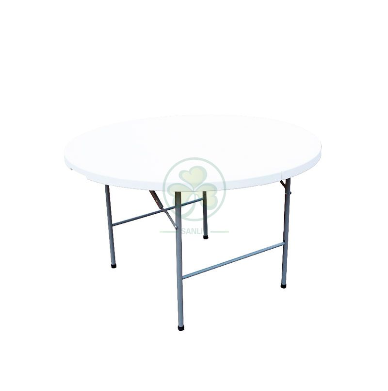 5FT Round Fold-In-Half Table