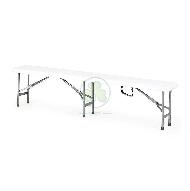 6FT Plastic Fold-In-Half Bench T5.0