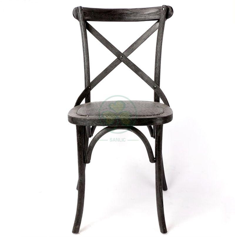 Hot Selling Black Cross Back Dining Chair  SL-W1805RGXB