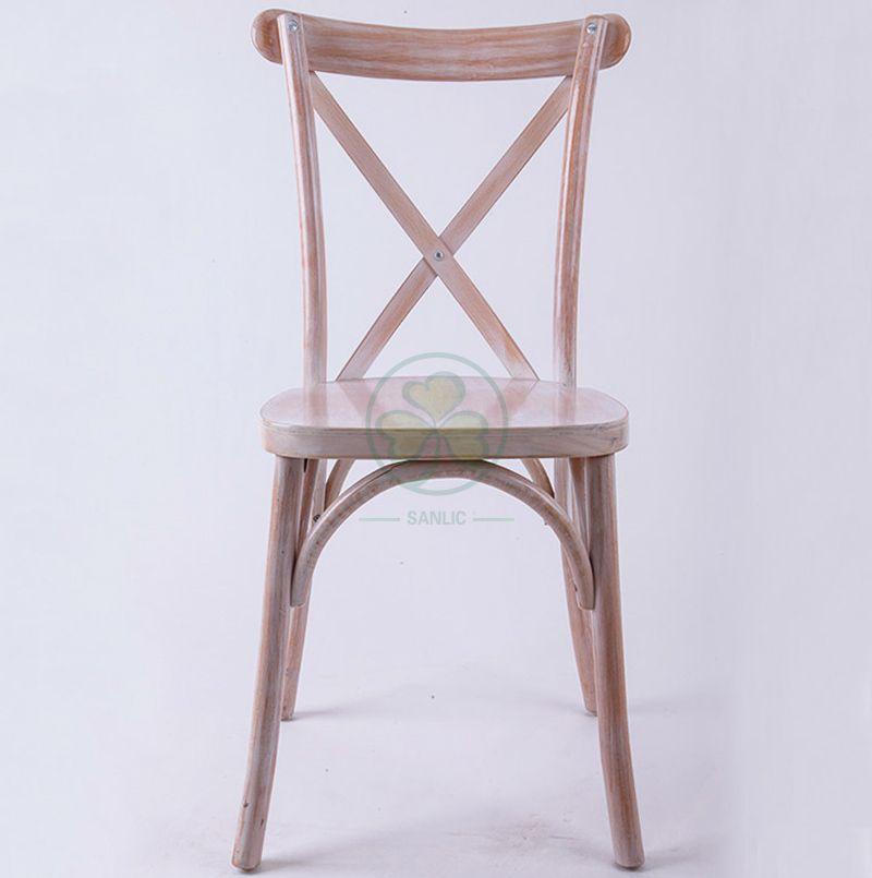 Classic Limewash Crossback Chairs for Event Rentals   SL-W1810RGXB