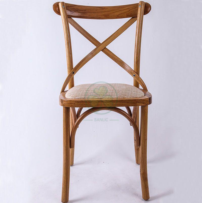 Wedding Rental Hot Sale X Back Dining Chair SL-W1819RGXB