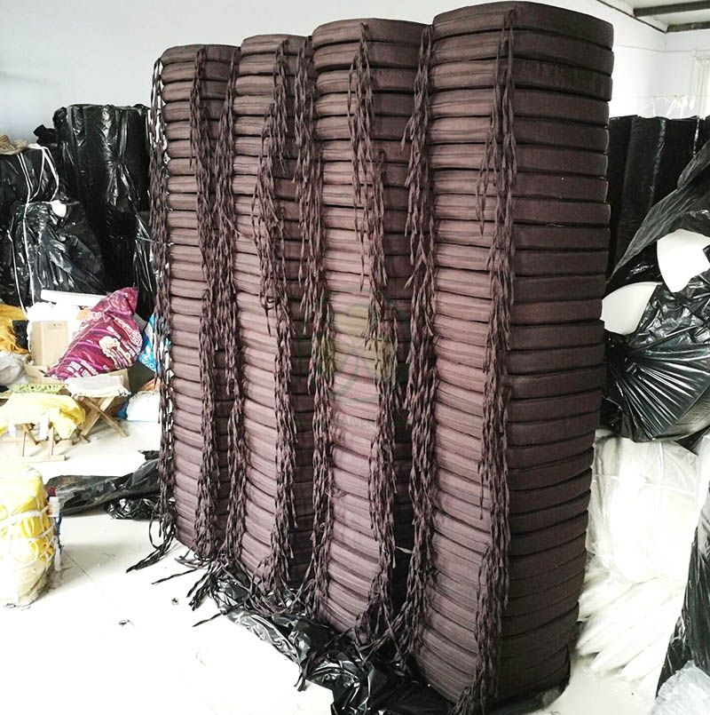 Factory Wholesale Dining Chair Cushion with Ties for Rentals SL-F1902SUCT