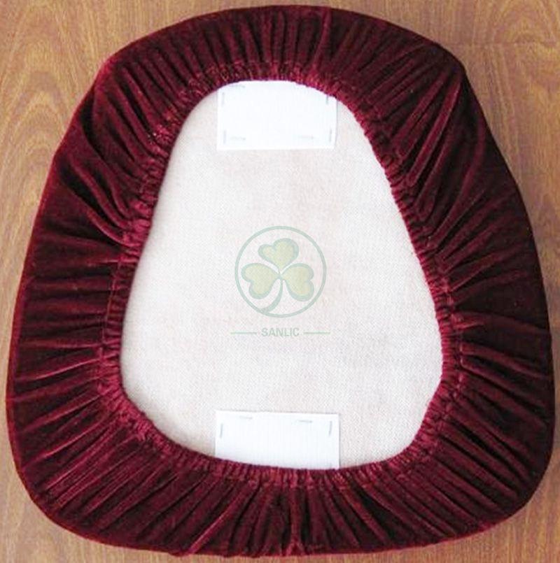 Factory Wholesale Velvet Seat Cushion Cover SL-F1921RVCV