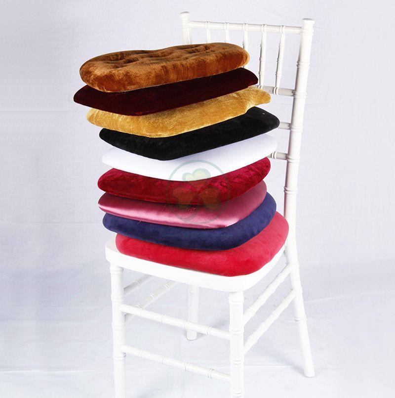 Wholesale Hard Cushion by Pleuche with Velcros SL-F1912HPCV