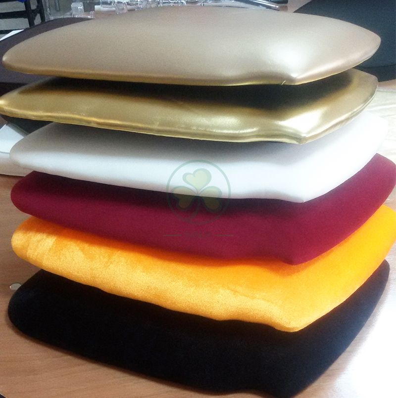 Event Rental PU Leather Hard Cushion with Velcros SL-F1914HLCV