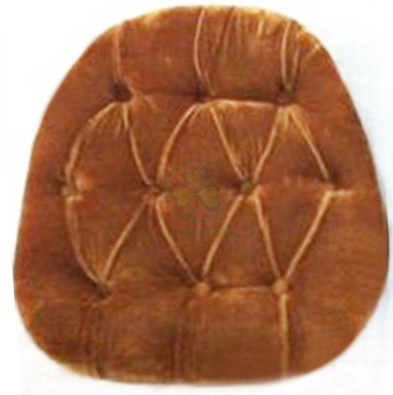 Customized Hard Pleuche Tufted Seat Cushion with Velcros SL-F1923HPTV