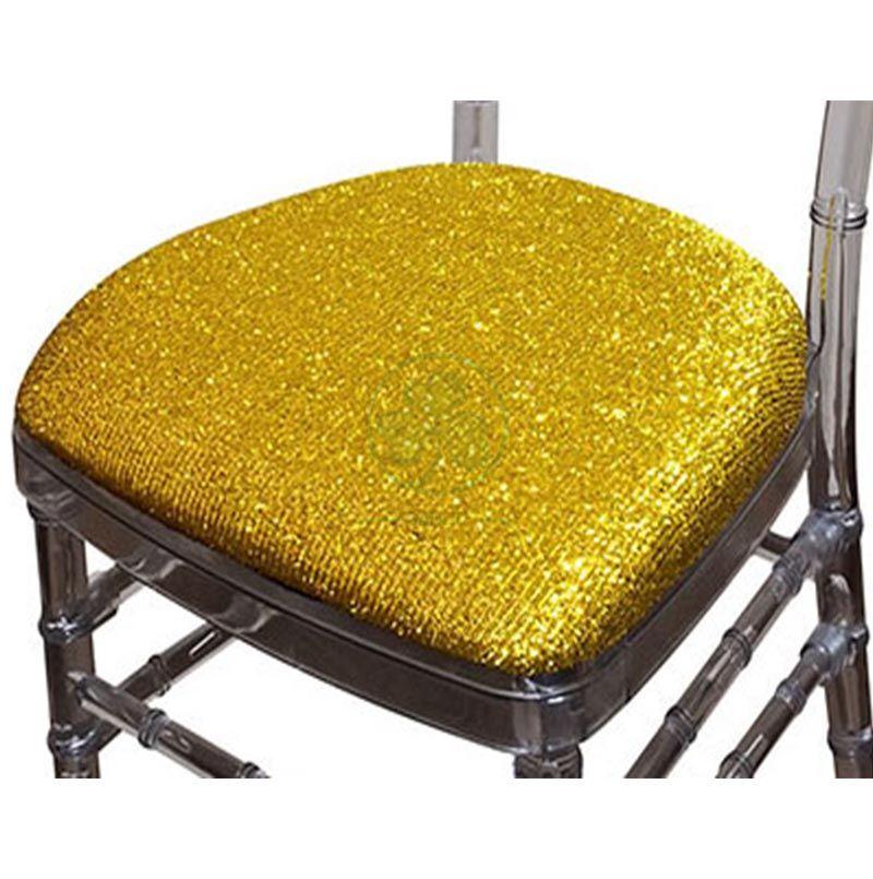 Wholesale Hard Glitter Fabric Seat Cushions with Velcros SL-F1928HGCV