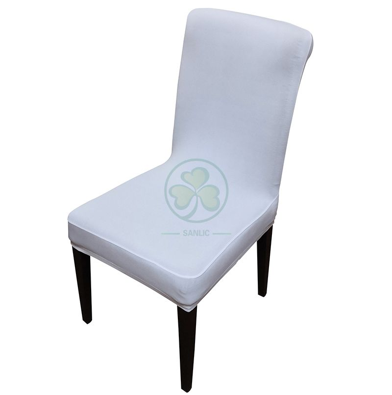 Factory Wholesale Removable Spandex Stretch Dining Chair Covers SL-F1960SSDC