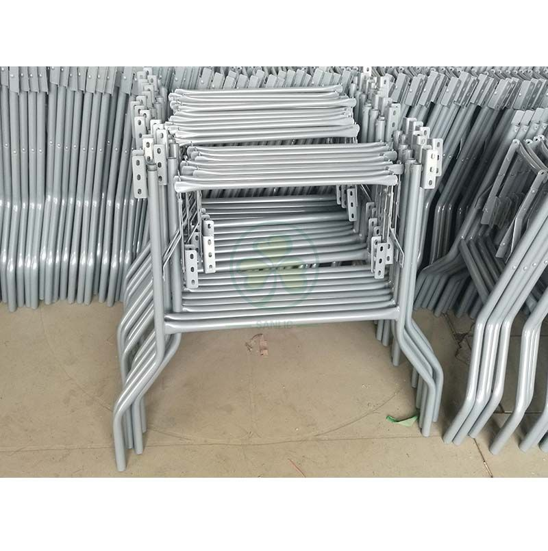 Event Rentals Metal Wishbone Folding Table Legs for Round Banquet Tables SL-M5706MFTL