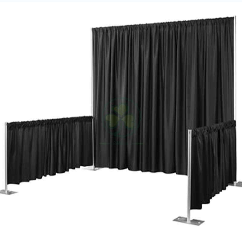 Factory Quality Backdrop Pipe and Drape for Wedding Decoration SL-F1982PPWD