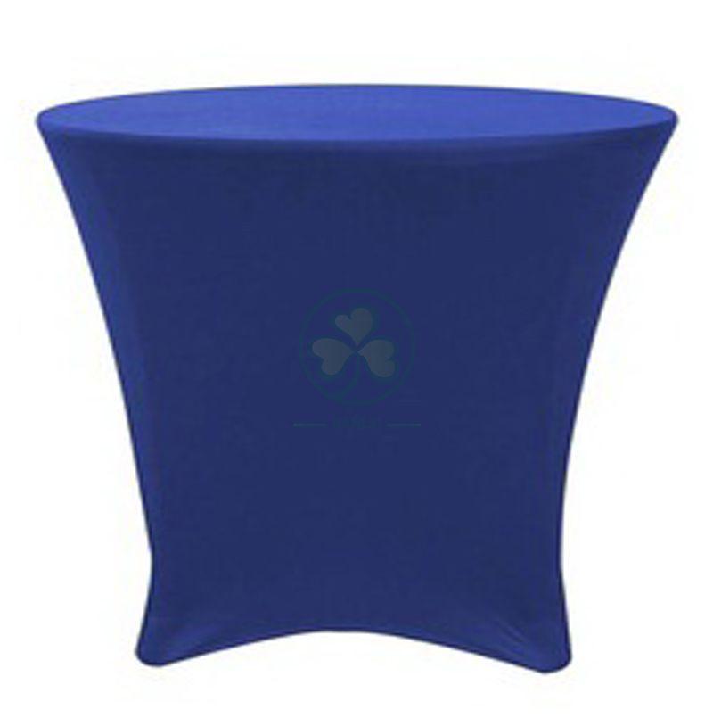 30x30 inch Lowboy Cocktail Round Stretch Spandex Table Cover SL-F1995SSTC