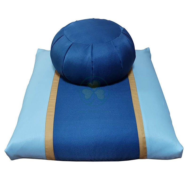 Factory Wholesale Buckwheat Kapok Zafu and Zabuton Meditation Cushion Set SL-F2032ZZMC