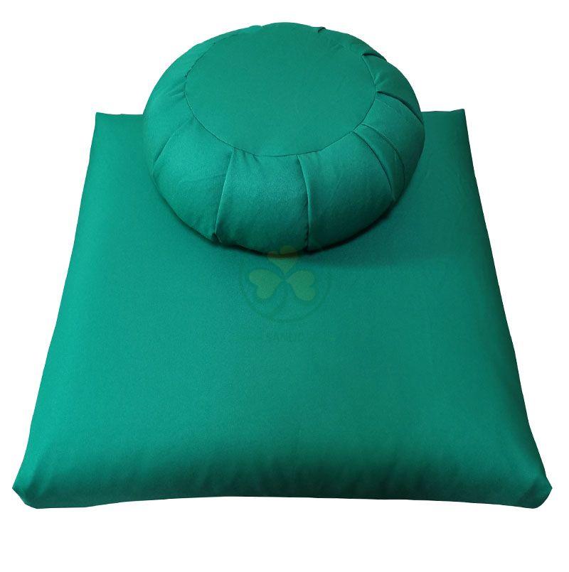Customized Zafu and Zabuton Meditation Cushion Set Filled Buckwheat Kapok SL-F2033ZZMC