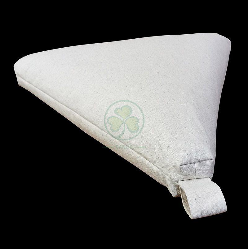 Morden Triangle Burlap Meditation Cushion SL-F2035MTMC