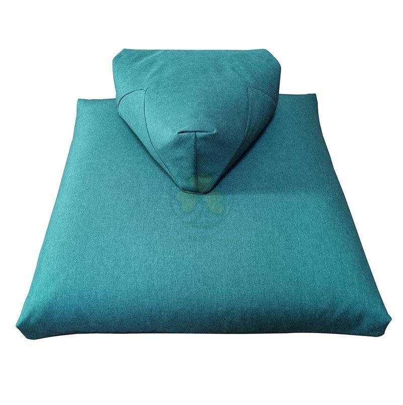 Comformtable Triangular Zabuton Meditation Cushion Set SL-F2038TZMC