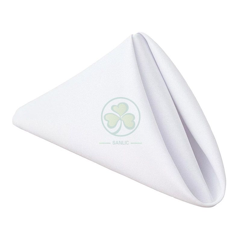 Classic Wholesale Polyester Linen Washable Cloth Napkins for Sale SL-F2044CPTN