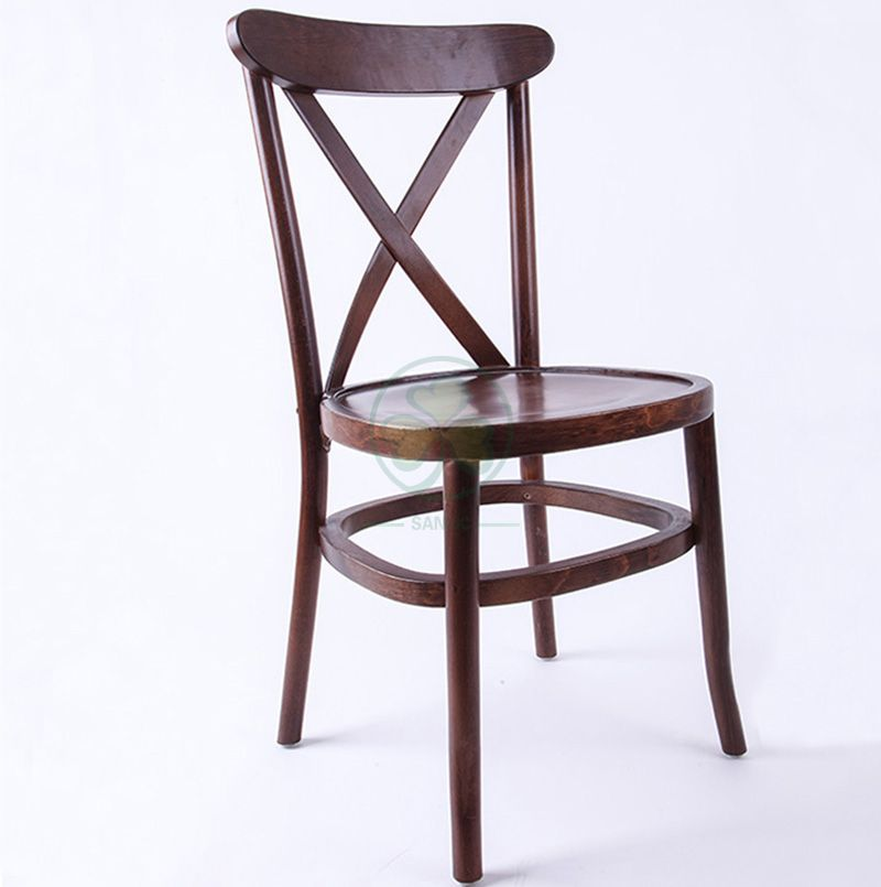 Wholesale Wooden Tuscan Dining Chairs Tuscan Crossback Chairs SL-W1833WTDC