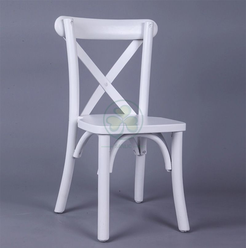 Wholesale Wooden Kids Crossback Chair for Children Parties SL-W1837KCBC