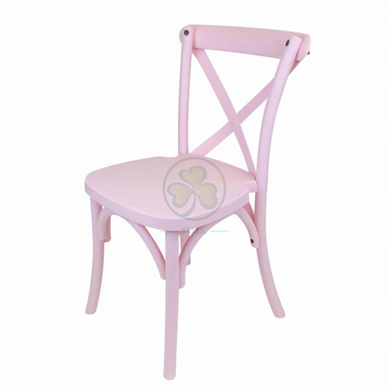 Hot Sale Wooden Kids X-Back Chair SL-W1838KCBC