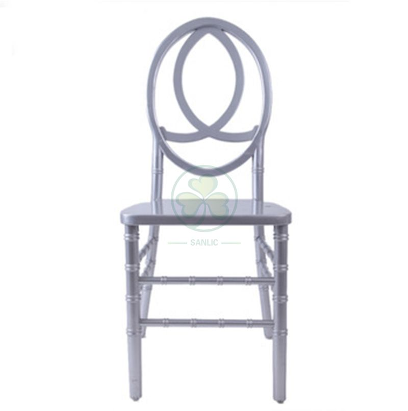 Wholesale Stackable Wooden Phoenix Chair with Fish-Shaped Back SL-W1845WPFB