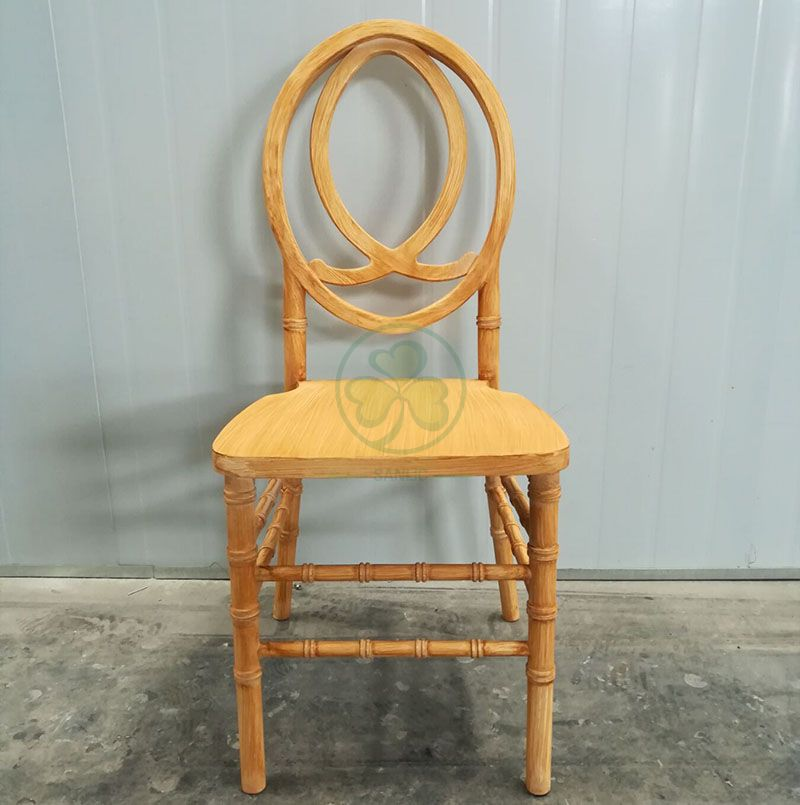 Wholesale Custom Lightwood Wooden Phoenix Chair Fish Back for Weddings Parties and Events SL-W1853WPFB