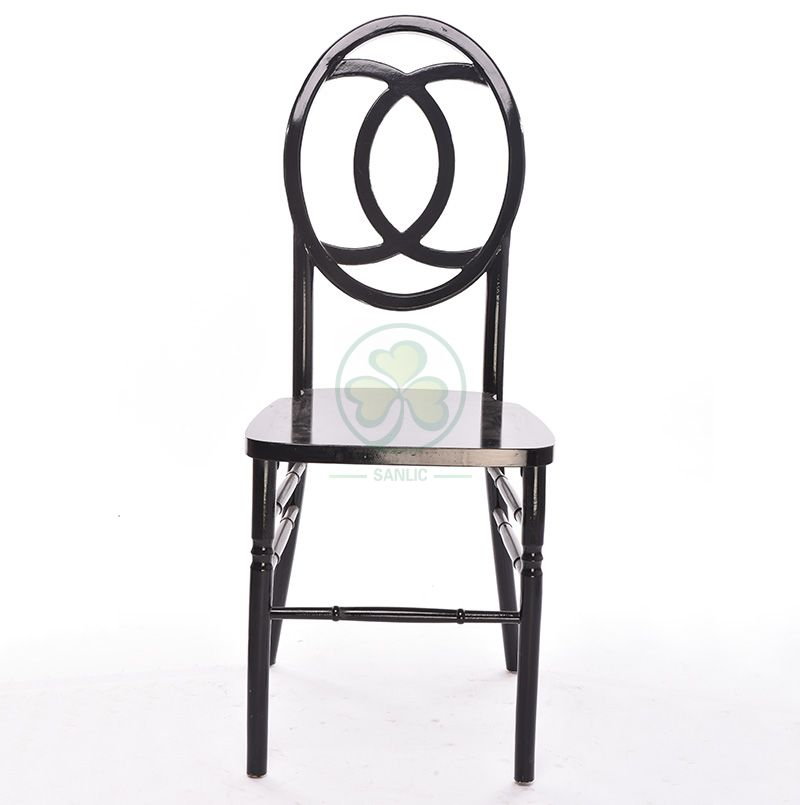 Black Wooden Chanel Phoenix Chairs for Parites or Events SL-W1851BWPC