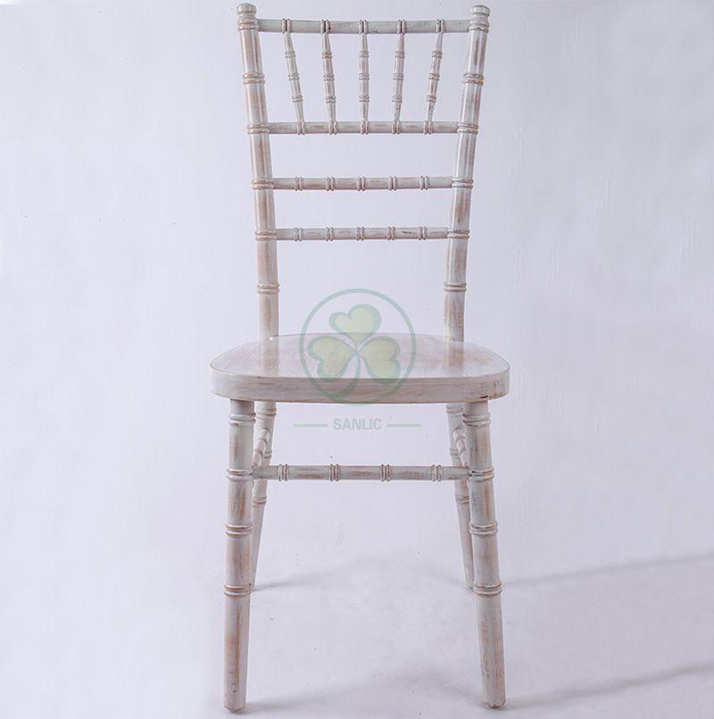Best Popular Regular Limewash Wooden Chiavari Chair UK Style for Banquets Weddings or Parties Hire or Rental SL-W1865RLWC
