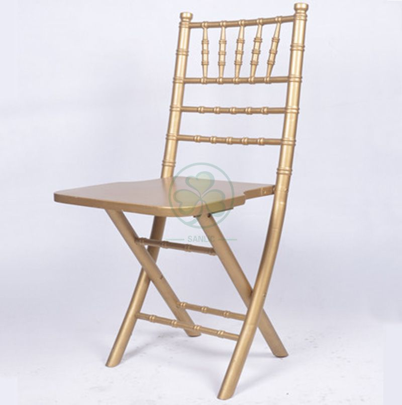 High Quality Elegant Wooden Folding Chiavari Chair for Outdoor or Indoor Celebrations or Reunions or Other Occaions SL-W1874 SL-W1874WFCC