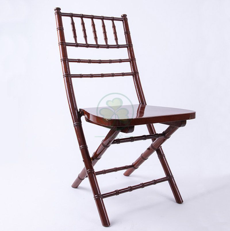 Wooden Fold Up Chiavari Chair for Event Wedding Rentals SL-W1876WFUC