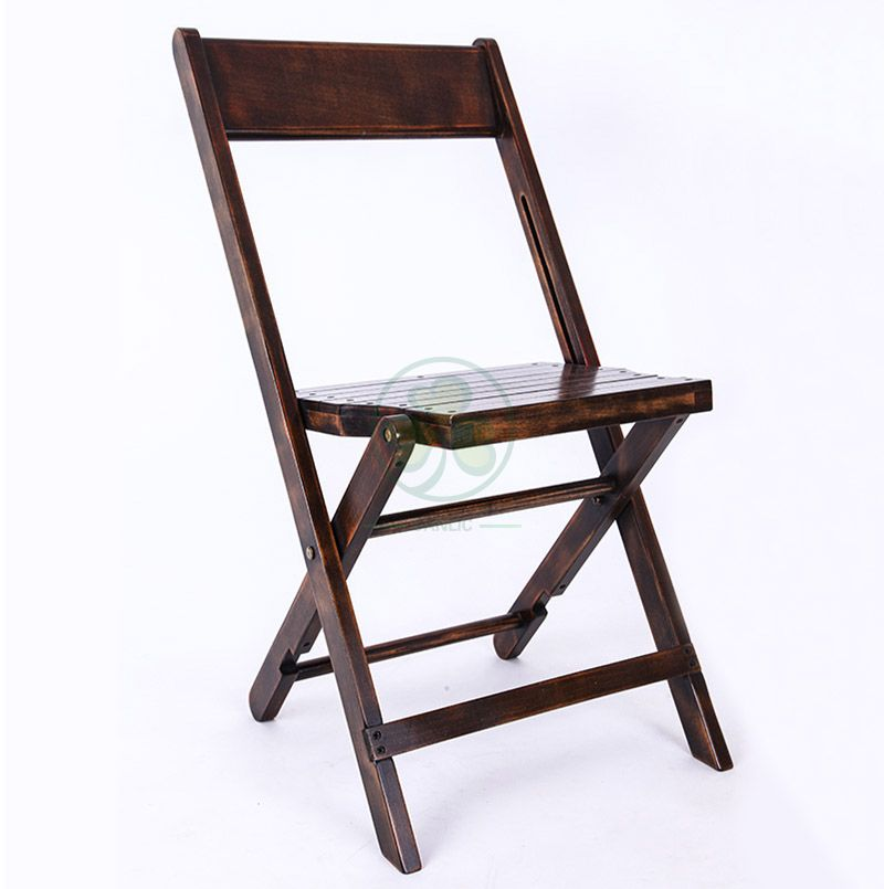 Most Popular 1942 Wooden Fold Up Chairs for Various Events or Celebrations SL-W1880WFUC