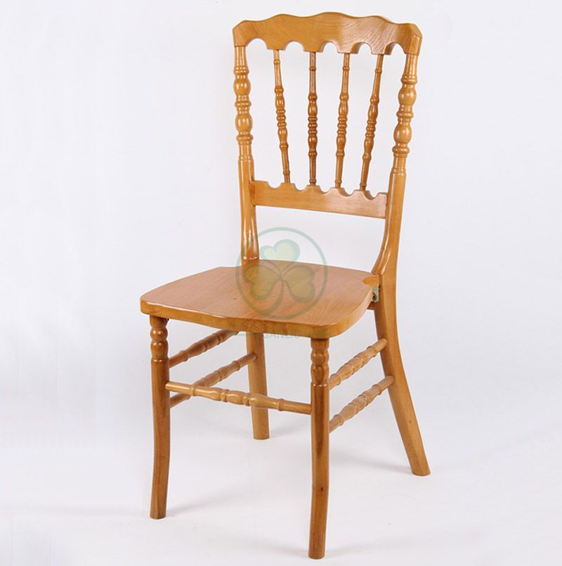 Bespoke Event Wooden Napoleon Dining Chair with Deluxe Style SL-W1908CWNC