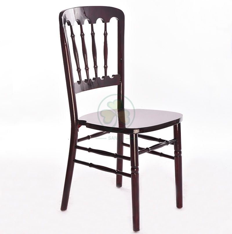 Popular Wooden Chateau Dining Chair for Outdoor or Indoor Parties Reunion Events SL-W1913PWCC