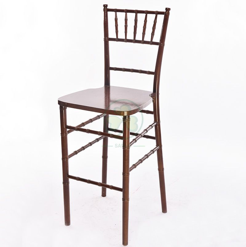 Most Popular Wooden Chiavari Barstools for Bars Resturant Hotels Coffee Shop and Any Other Events Occasions SL-W1920WCBS