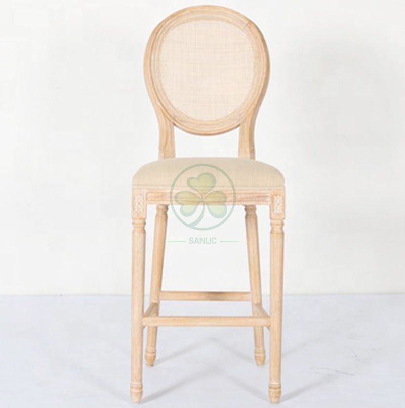 Direct Factory High Quality Wooden Louis Counter Stools SL-W1926WLCS