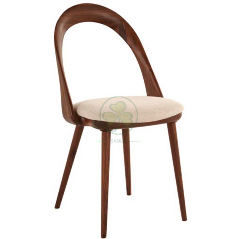 Popular Solid Ash Wood Coffee Shop Dining Chair SL-W1930SWDC
