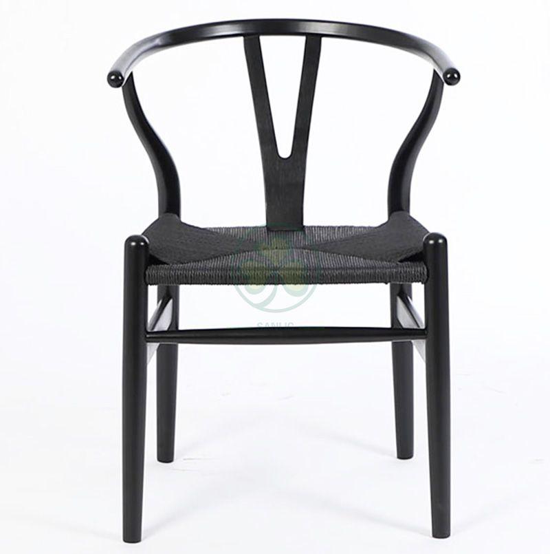 Replicant Hans Wegner Solid Wooden Y Wishbone Restaurant Dinner Chair SL-W1936HWWC