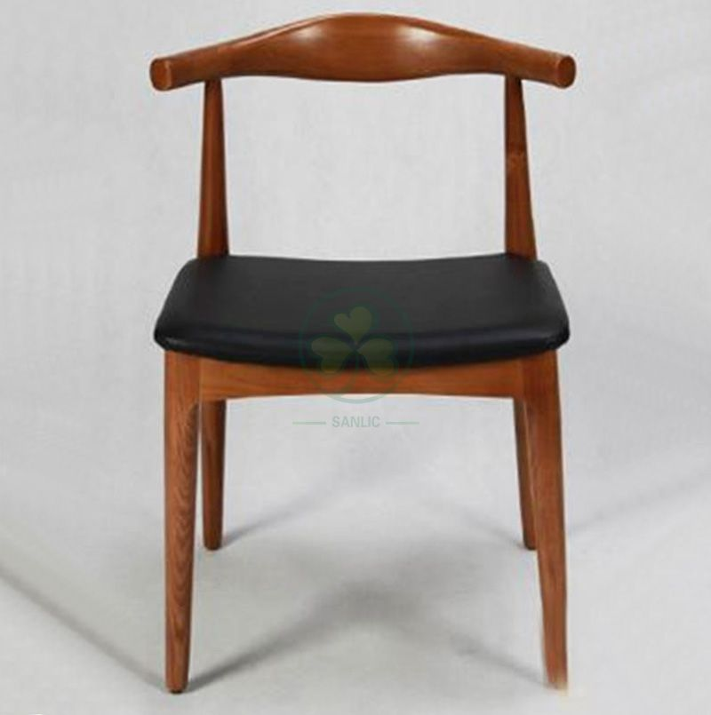 Popular Wooden Cow Horn Cafe Chair SL-W1940WCHC