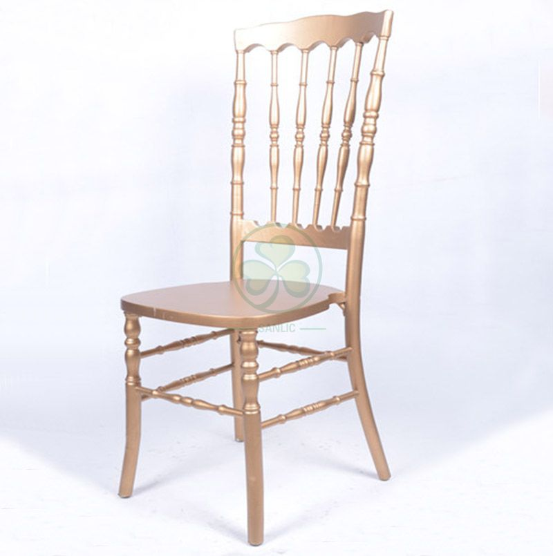 Popular Wooden High Back VIP Chair for Weddings Events and Parties Type B SL-W1949WHBC