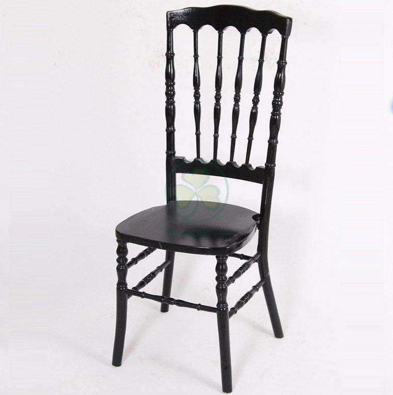 Stackable Wooden VIP High Back Royal Chair for Different Social Events or Parties SL-W1951SWRC